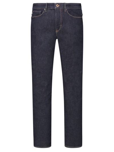 5-pocket jeans with contrast seams v MARINE
