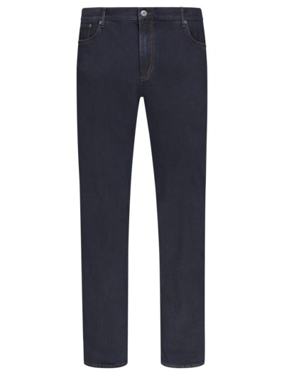 5-pock jeans with stretch aspect, Hi-Flex v MARINE