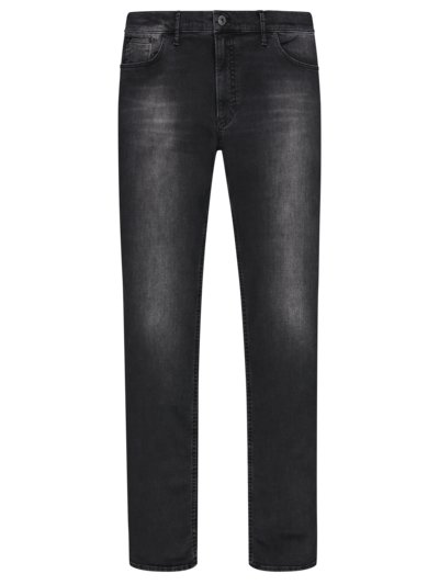 Jeans with a stylish washed effect, with Hi-Flex, Chuck v ANTHRACITE