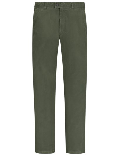 Classic chinos in pima cotton, Jim v OLIVE-