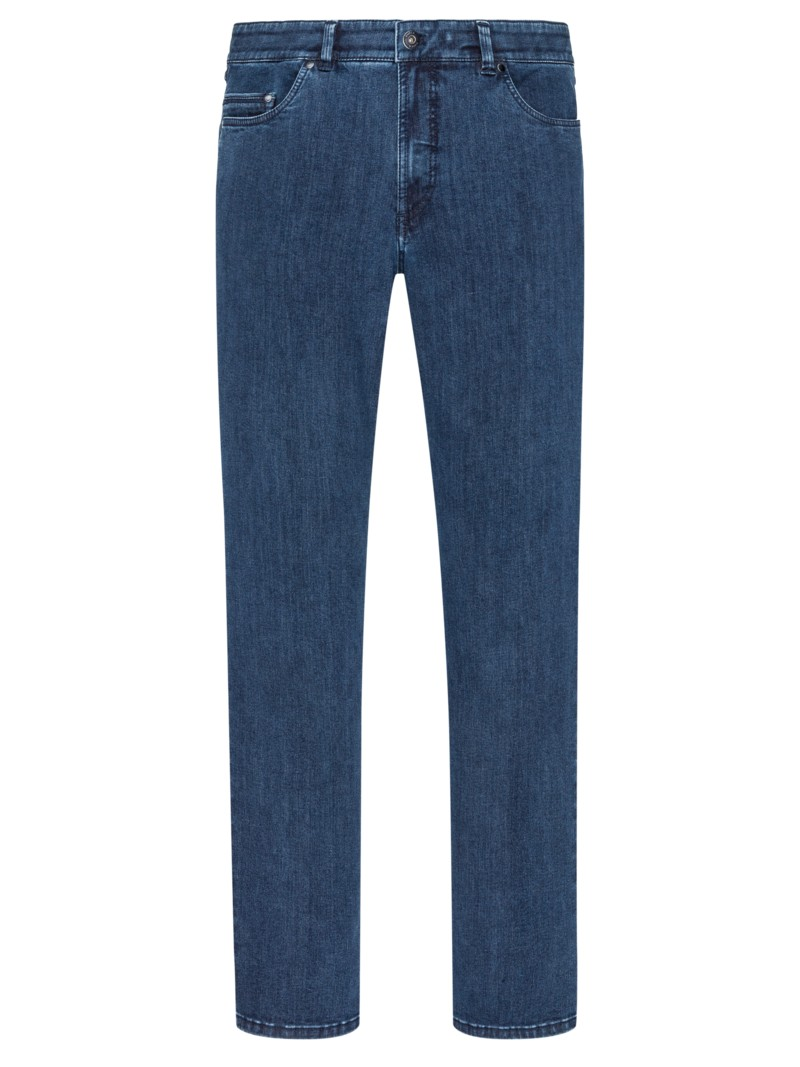 Eurex Authentische High-Stretch Jeans MARINE in Übergröße
