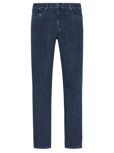 Authentische High-Stretch Jeans in MARINE
