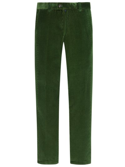Corduroy trousers in cotton blend, Jim v GREEN