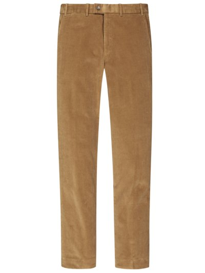 Classic chinos in fine corduroy v LIGHT BROWN