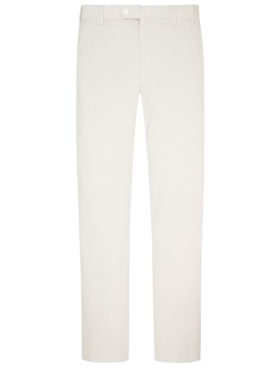 Comfortable fine corduroy pants with stretch content v OFF WHITE