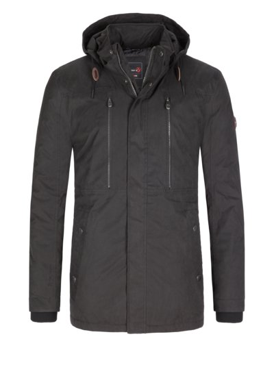 Functional casual jacket v ANTHRACITE