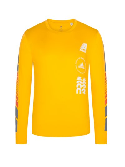 Sweatshirt with Climalite v YELLOW