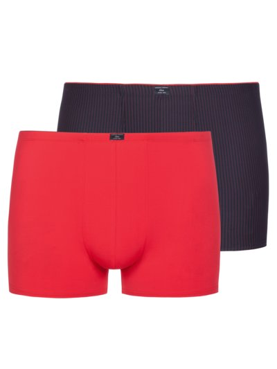 Boxer shorts in a double pack v RED