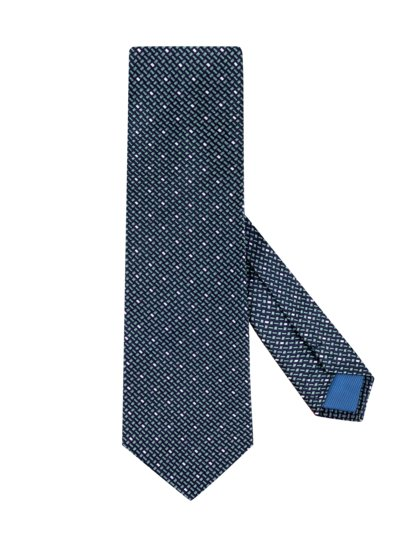 Tie with a stylish pattern v LAVENDER