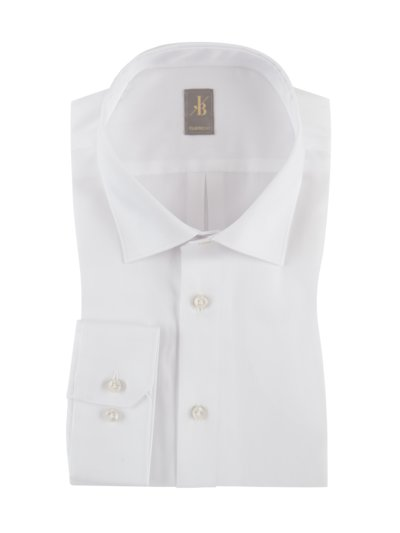 Shirt with Kent collar v WHITE