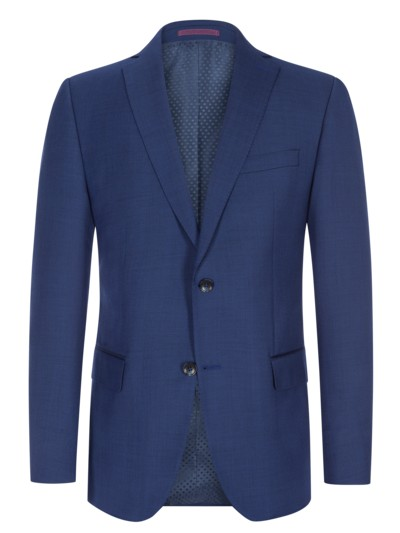100% virgin wool jacket, Super 100s v BLUE