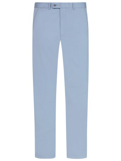 Stretch chinos v LIGHT BLUE