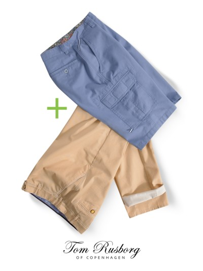 Aktion: 2 Hosen (Chino und Bermuda) = 1 Sparpreis in MULTI