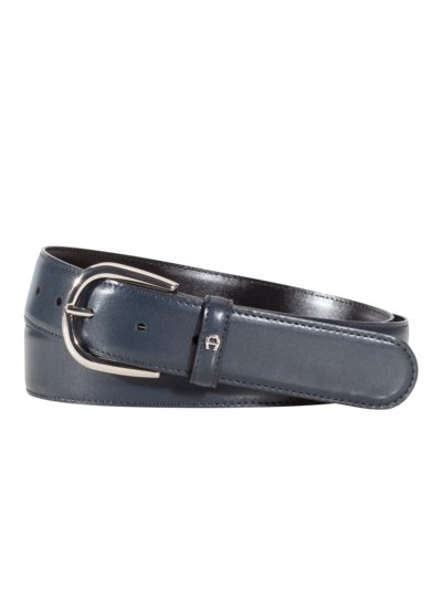 Business belt with rounded buckle v MARINE