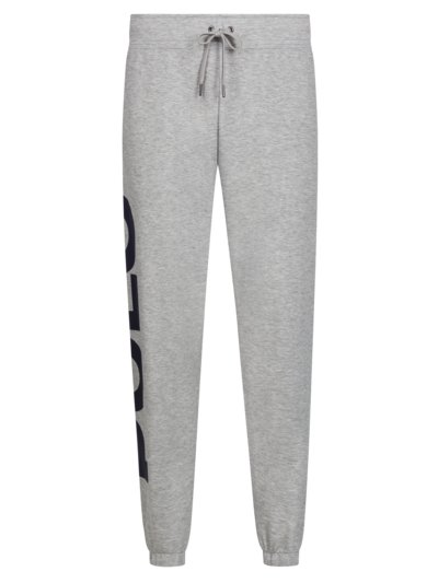 Jogging bottoms with logo patch v GREY