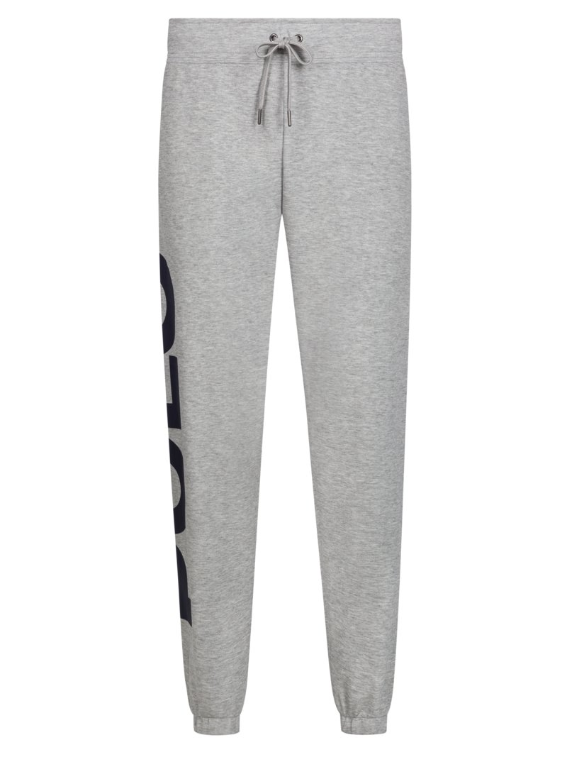Polo Ralph Lauren Jogging bottoms with logo patch GREY in plus size