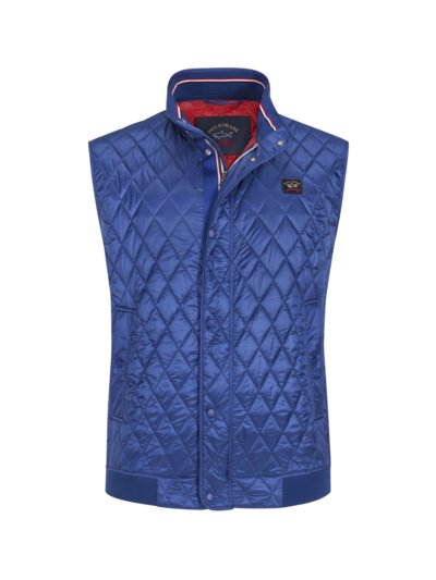 Quilted gilet with Primaloft lining v ROYAL