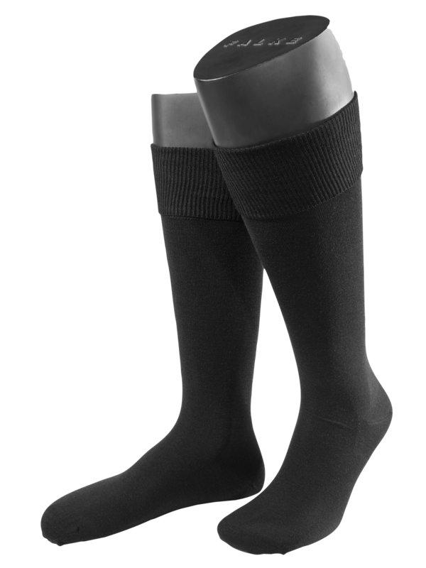 9cb9612d0ed Falke Podkolenky černá – Pánská móda v nadměrné velikosti