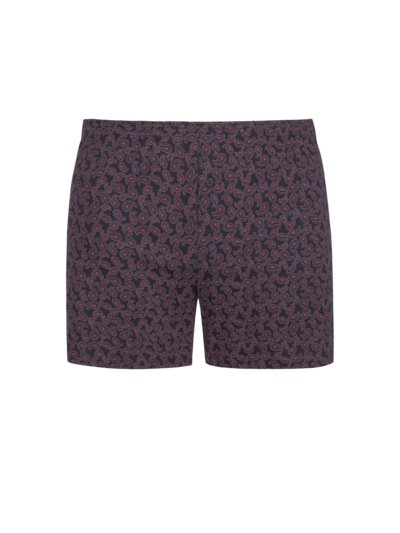 Boxer shorts with paisley print v RED
