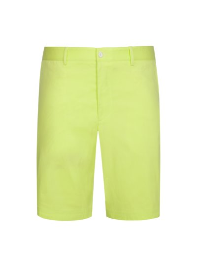 Bermuda shorts with stretch, B-Claydon v YELLOW