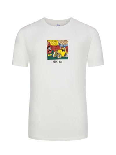 T-Shirt mit 'Donald Duck'-Print in OFFWHITE