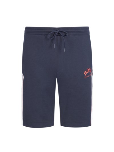 Short sweatpants in a cotton blend v MARINE