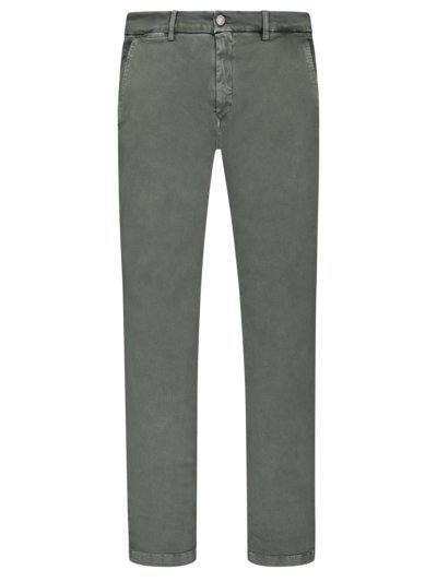 Hyperflex-Chino in Stretch-Denim in OLIV