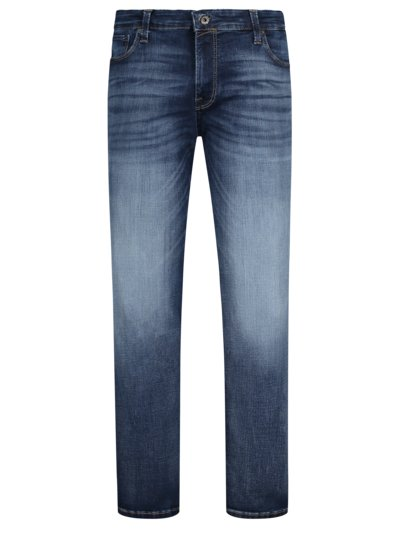 Jeans with a modern washed effect, Tim v BLUE
