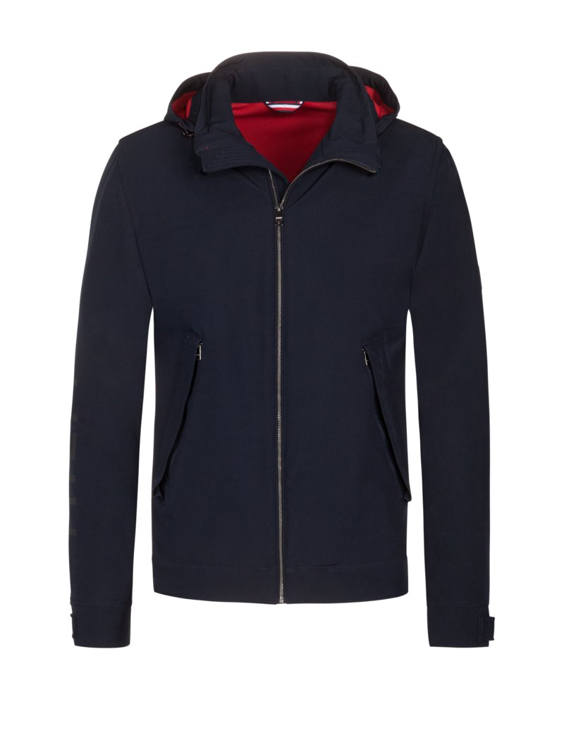 Tommy Hilfiger Casual jacket with THFlex fabric BLUE in plus size