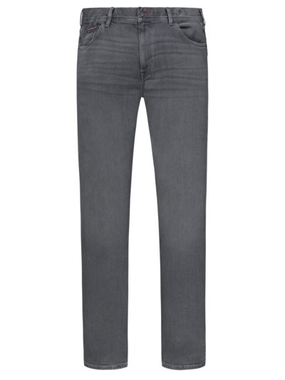 Denim jeans with added stretch content v GREY