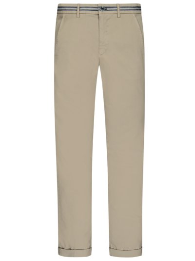 Stretch chinos v BEIGE