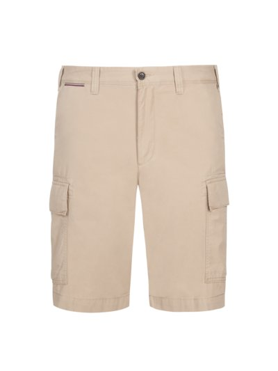 Shorts with cargo pockets v BEIGE