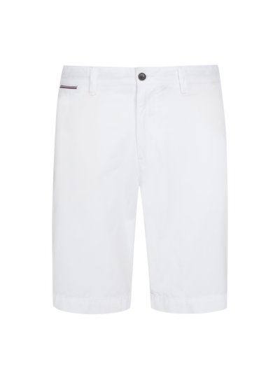 100% cotton shorts v WHITE