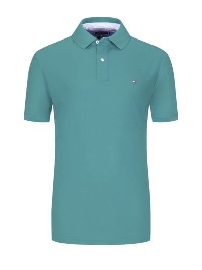 100% cotton polo shirt v GREEN
