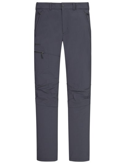 Trekking trousers with stretch content v ANTHRACITE