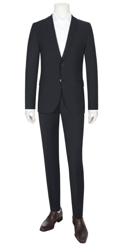 Suit separates suit in a wool blend v MARINE