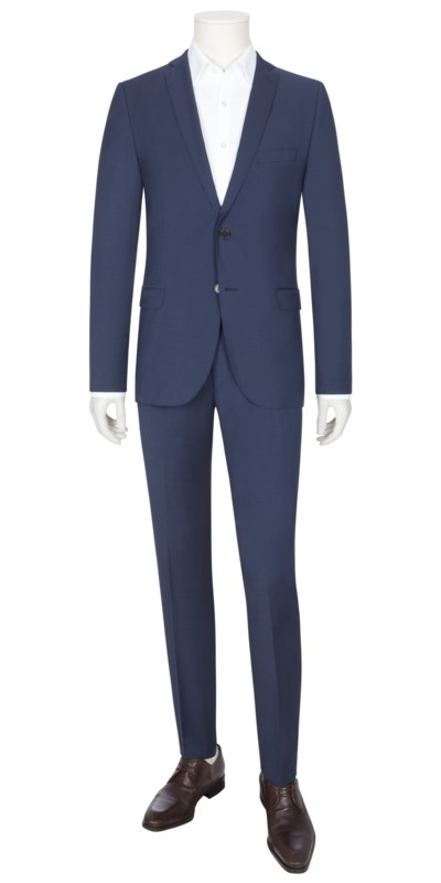 Suit separates suit with Dynamic Wool v BLUE