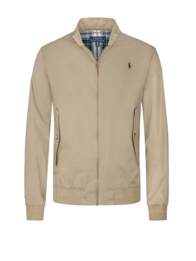 Freizeitjacke in Blouson-Form in BEIGE