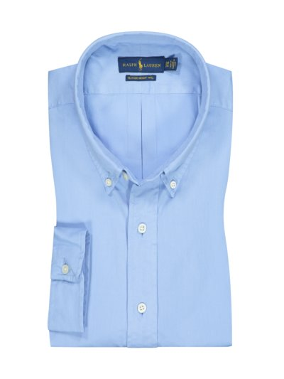 Casual shirt with button-down collar v LIGHT BLUE