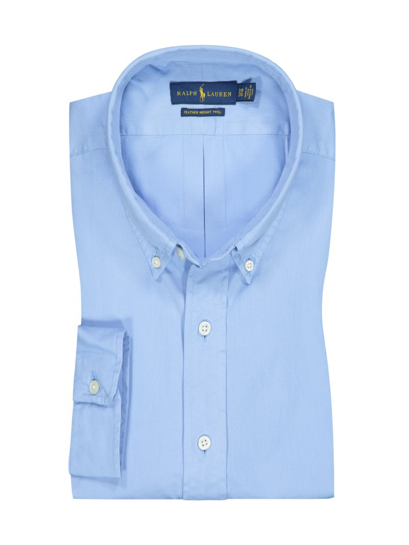 Polo Ralph Lauren Casual shirt with button-down collar LIGHT BLUE in plus size