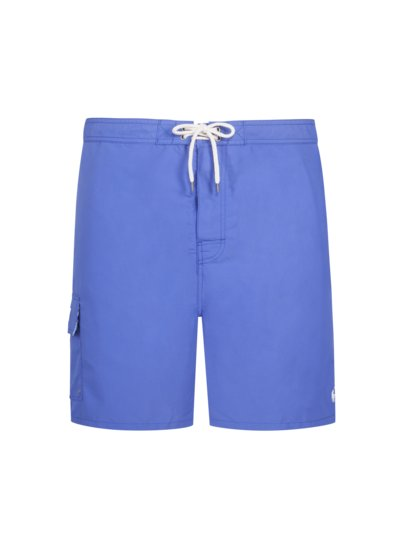 Swimming trunks with cargo pockets v BLUE