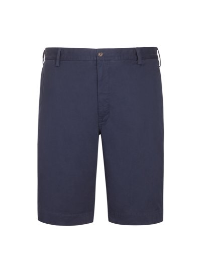 Bermuda in Chino-Form, mit Stretchanteil in MARINE