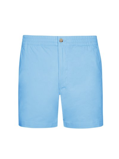 Comfortable Bermuda shorts with stretch content v LIGHT BLUE