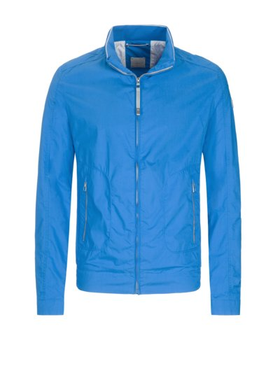 Blouson jacket with reflective elements v LIGHT BLUE