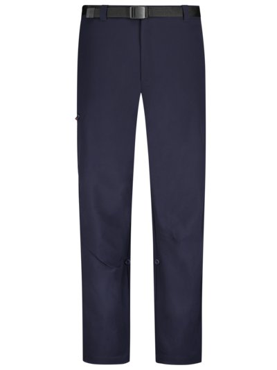 Trekking pants with stretch content v MARINE