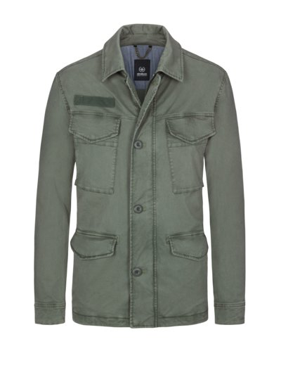Fieldjacket, S.C. Lugano in OLIV