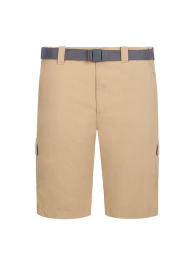 Trekking Bermuda shorts with belt v BEIGE