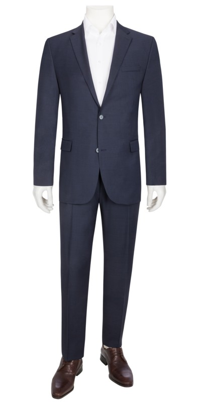 Suit separates suit with micro pattern v MARINE