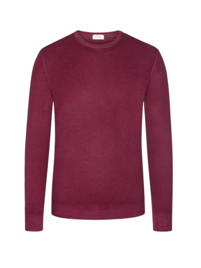 Premium sweater, round neck v RED