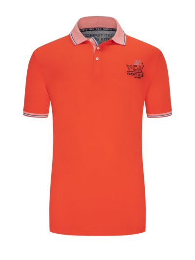 Poloshirt in ROT